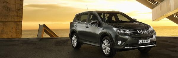 La nuova attesa versione della Toyota RAV4