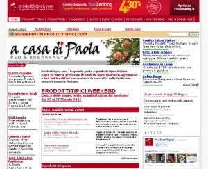 Sagre ed eventi su ProdottiTipici.com