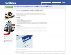 Come salvare le foto di Facebook