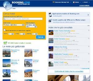 Scegliere e prenotare l'hotel con Booking.com
