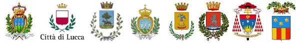 Gli stemmi ufficiali dei Comuni, delle Province e delle Regioni