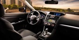 La plancia del crossover compatto Subaru  XV