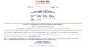 Suoni gratis su FindSounds