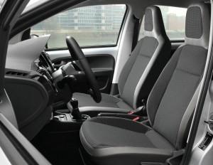 Gli interni della Volkswagen Up!